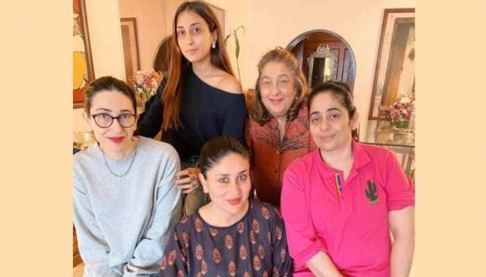 Kareena Kapoor spends quality time with family in new home, Karisma Kapoor shares adorable group pic