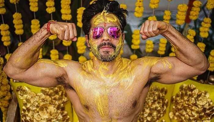 Varun Dhawan shares glimpse of pre-wedding festivities with shirtless picture, take a look