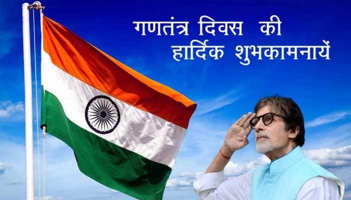 Republic Day 2021: Amitabh Bachchan, Priyanka Chopra and others extend wishes