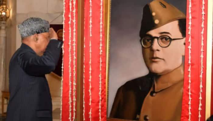 Netaji Subhas Chandra Bose photo unveiled by President original, says government; refutes 'fake' debate