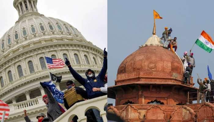 Exposed: World media's double-speak on Capitol Hill riots and farmers march in India