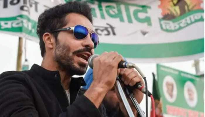 Punjabi actor Deep Sidhu denies allegations of instigating farmers