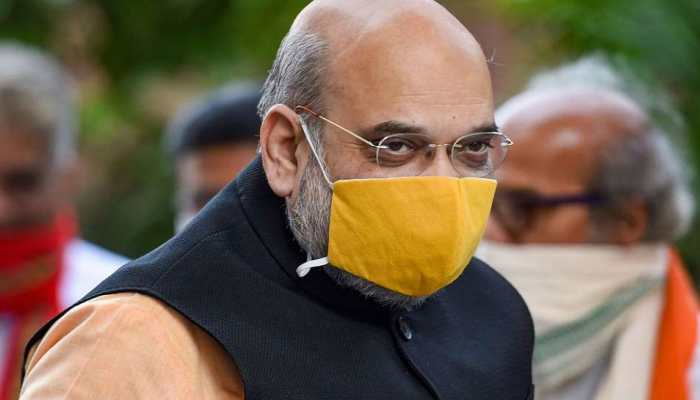 Home Minister Amit Shah meets cops injured during farmers' tractor rally in Delhi