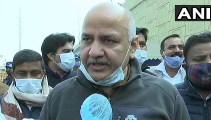 Manish Sisodia reviews arrangements for farmers at Ghazipur, says this about Republic Day violence