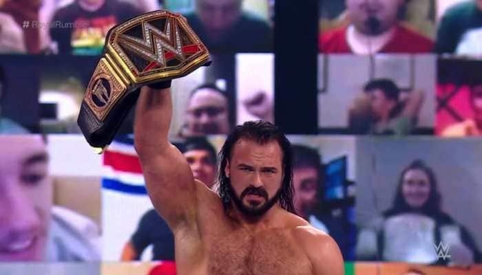 WWE Royal Rumble 2021: Champion Drew McIntyre defeats Goldberg, Sasha Banks retains title