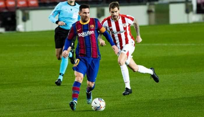 Football: Lionel Messi hits goal 650 as Barcelona get Athletic revenge