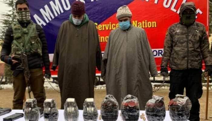 Two terrorist associates of Jaish-e-Mohammed held in J&K's Bandipora; arms, ammunition recovered