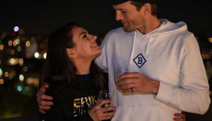 Mila Kunis watches porn at midnight? Hubby Ashton Kutcher thinks so