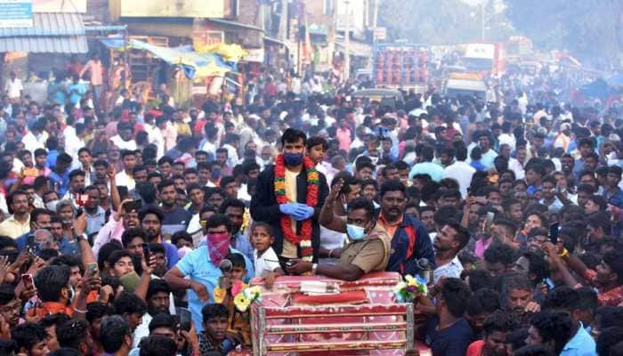 Ecstatic, extremely surprised by reception at my hometown: T Natarajan