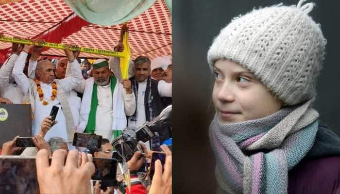 'I still stand with farmers', tweets Greta Thunberg after Zee News exposes Swedish climate activist