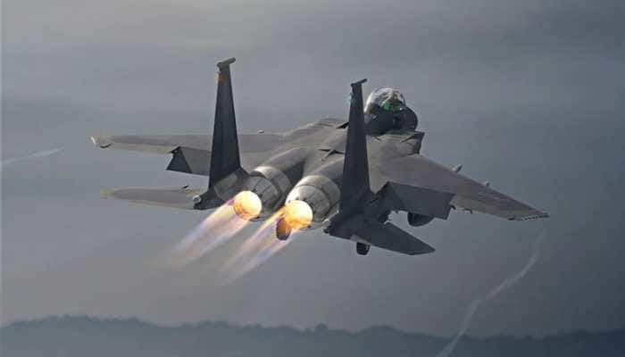 F-15EX multi-role combat aircraft's historic first flight: WATCH
