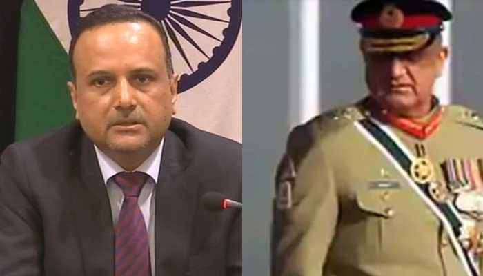 Pakistan Army chief General Qamar Javed Bajwa makes remark on Jammu and Kashmir, India responds