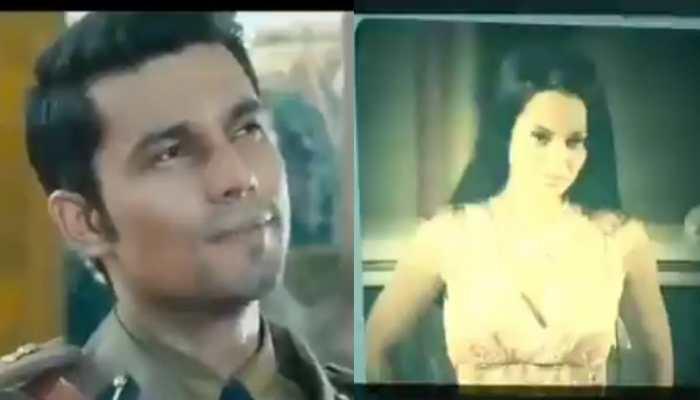 Oops! Randeep Hooda shares old film clip where Kangana Ranaut plays 'Rehana'- Watch