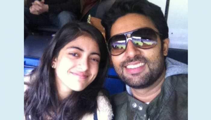 Navya Naveli wishes 'best friend' Abhishek Bachchan, calls him partner in crime