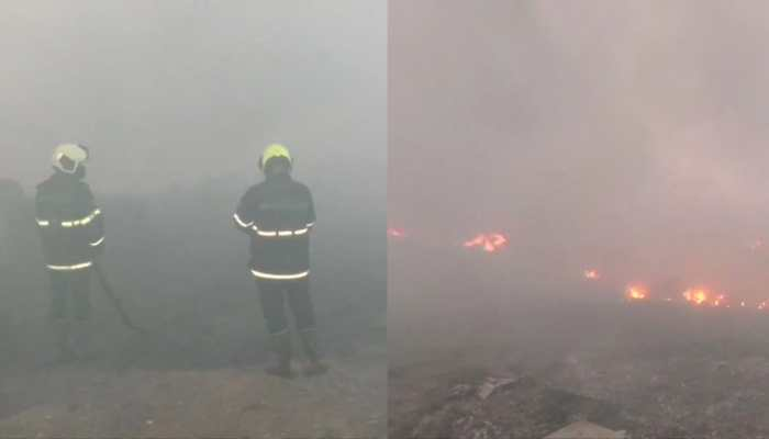 Efforts on to douse fire at Mankhurd scrapyard in Mumbai, 50 godowns gutted in blaze
