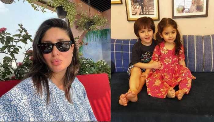 Preggers Kareena Kapoor Khan's Saturday photo album features Taimur Ali Khan and Inaaya Naumi Kemmu flashing a wide smile on a sunny day!