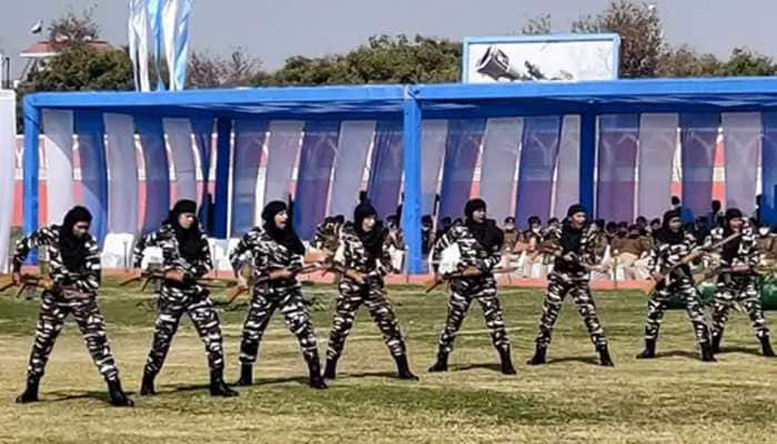 CRPF's first women team inducted into CoBRA commando unit to take on Naxals