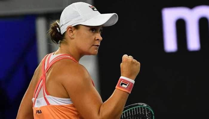 Yarra Valley Classic: Ash Barty outmuscles Garbine Muguruza to win first tournament after comeback