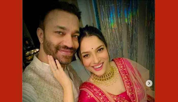 Ankita Lokhande dances to romantic number for beau Vicky Jain as Propose Day surprise, watch video