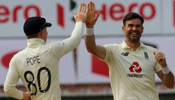 India vs England 1st Test: James Anderson twin strikes dent hosts chances, Kohli battles