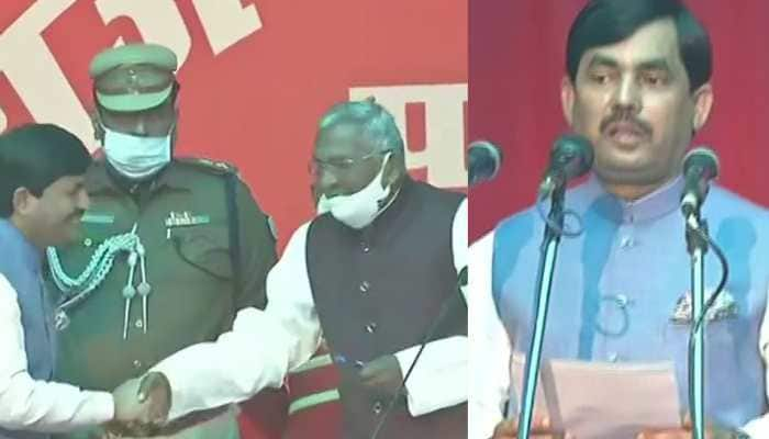 Nitish Kumar expands Bihar cabinet, inducts BJP leader Shahnawaz Hussain