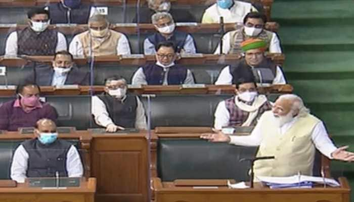 PM Narendra Modi concludes speech in Lok Sabha with this appeal to protesting farmers