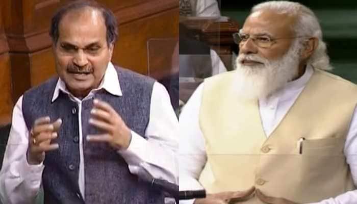Ab zyada ho raha hai: PM Narendra Modi takes jibe at Adhir Ranjan Chowdhury