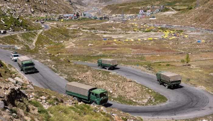 'Chinese, Indian border troops start disengagement at Pangong lake in eastern Ladakh'