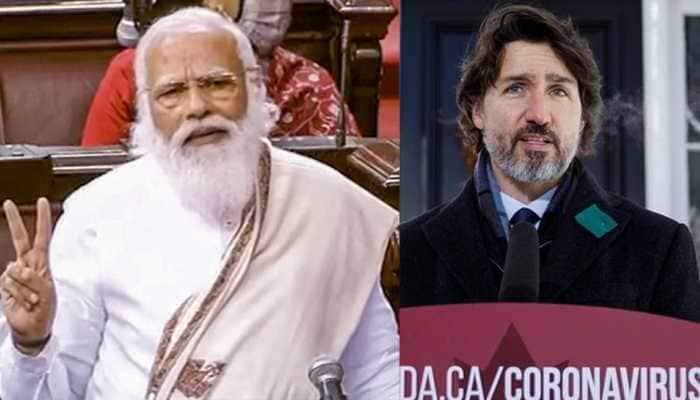 PM Narendra Modi assures Canada's Justin Trudeau of COVID-19 vaccine supplies