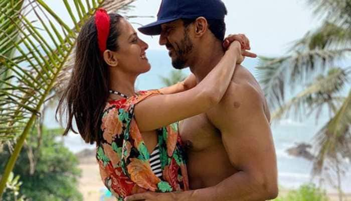 TV actress Anita Hassanandani's husband Rohit Reddy shares first glimpse of baby boy and we can't keep calm!