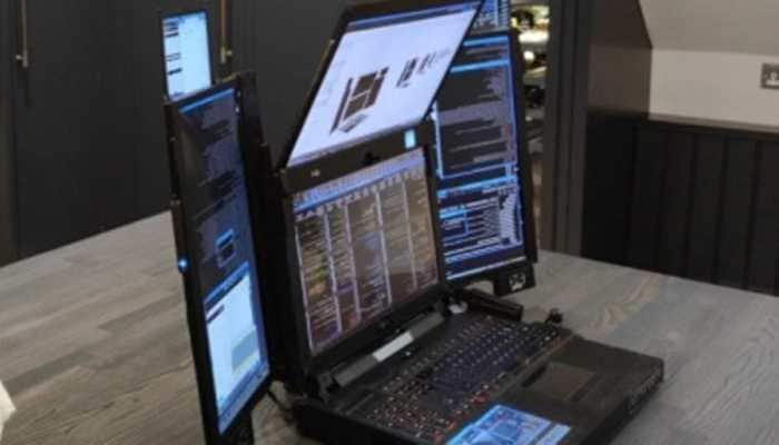 A laptop that has seven screens! Know all about Aurora 7 Prototype laptop