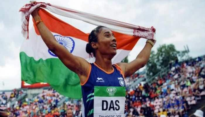 Sprinter Hima Das to be appointed DSP by Assam government