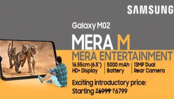 "5000mAh Battery + Large 6.5"" Screen +Dual Camera. Meet Galaxy M02 - Samsung's Killer Offering under 7K"