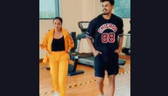 Yuzvendra Chahal's wife Dhanashree Verma dances with Shreyas Iyer in this viral video- Watch
