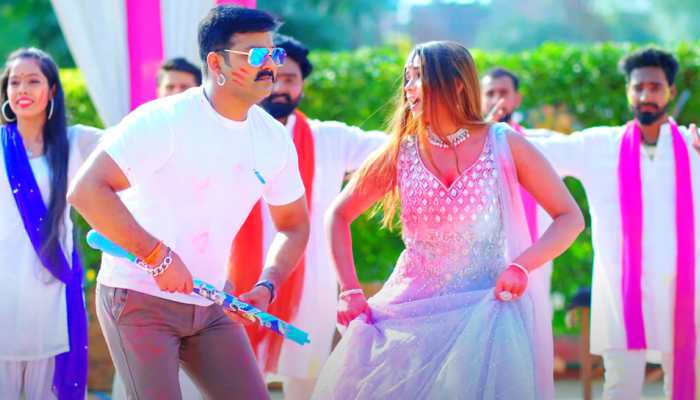 Pawan Singh's latest Bhojpuri Holi song hits YouTube - Watch