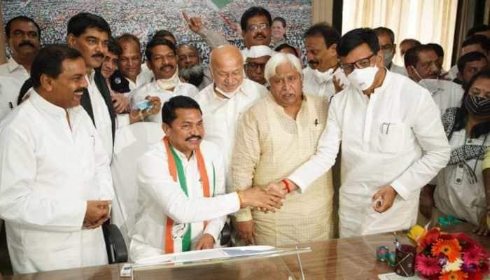 Nana Patole officially takes over as Maharashtra's Congress president
