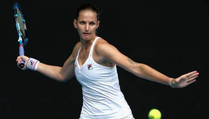Aus Open: Karolina Pliskova points to ring rust as Czech exits in third round