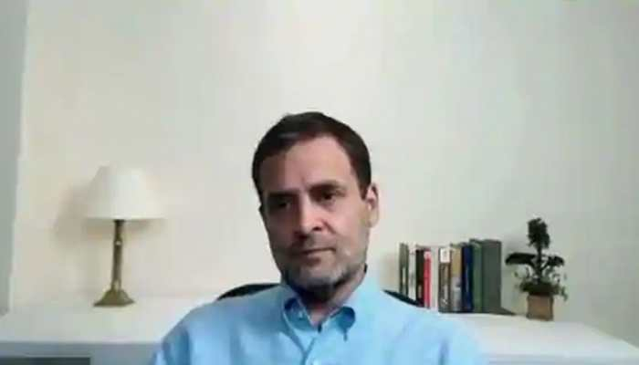 My room is shaking: Rahul Gandhi reacts during live interaction with students after massive earthquake tremors jolt north India