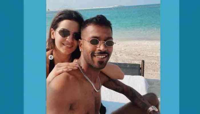 Natasa Stankovic, cricketer Hardik Pandya celebrate Valentine's Day on beach, photo sends internet into meltdown