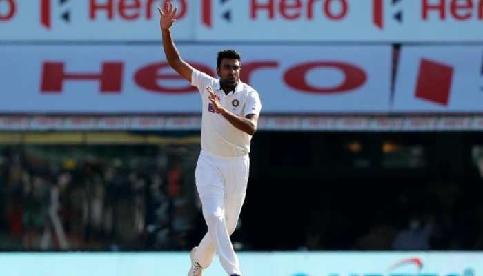 India's Ravichandran Ashwin was declared the man-of-the-match for scoring a century and picking up eight wickets in the second Test against England in Chennai. (Source: Twitter)
