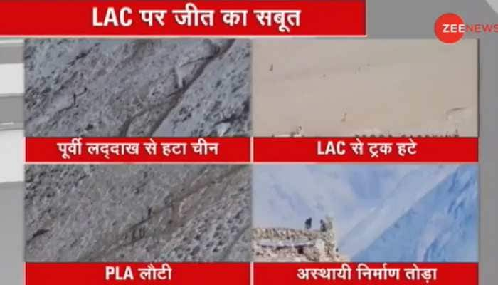 India-China LAC disengagement: Chinese Army dismantles bunker, retreats from both sides of Pangong Lake in eastern Ladakh