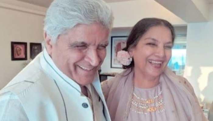 Shabana Azmi says husband Javed Akhtar makes her laugh like no other. Shares proof!