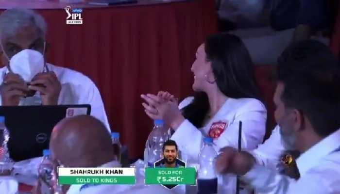 IPL 2021 auction: Preity Zinta buys Shahrukh Khan, fans say 'Veer Zaara' in Punjab Kings