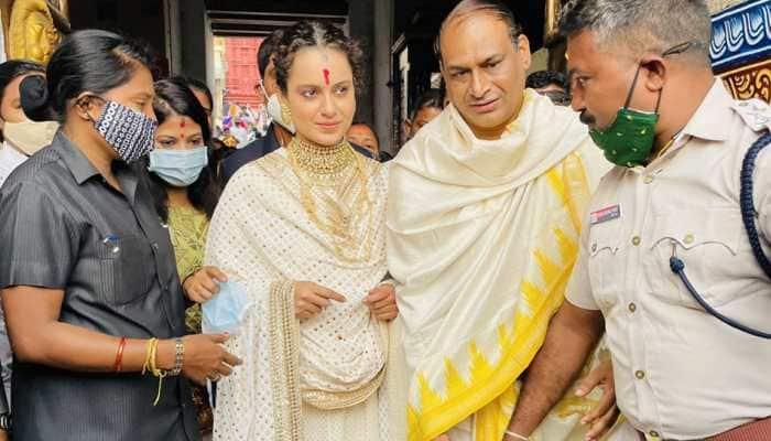 Kangana Ranaut visits Lord Jagannath temple, shares breathtaking pics from Puri!