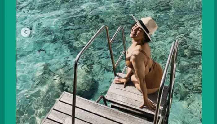 'Dangal' girl Sanya Malhotra's sizzling hot photos in chocolate brown bikini will make you wanna hit the beach