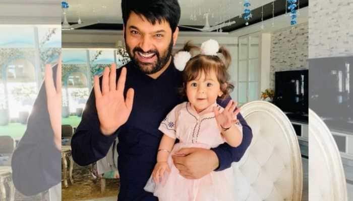 Kapil Sharma drops awwdorable pic with daughter Anayra!