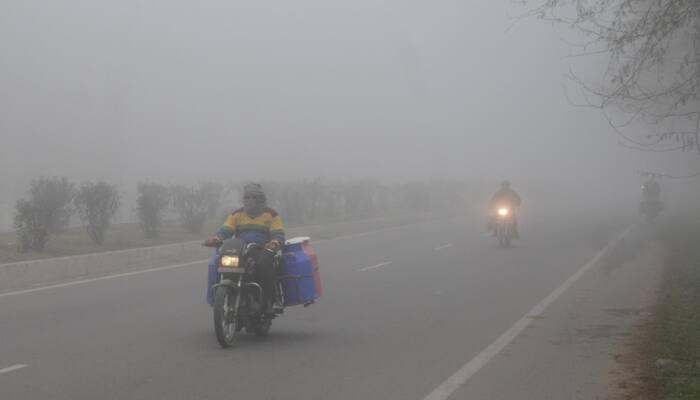 Dense fog engulfs Delhi even as maximum temperature nears 30 degrees Celsius