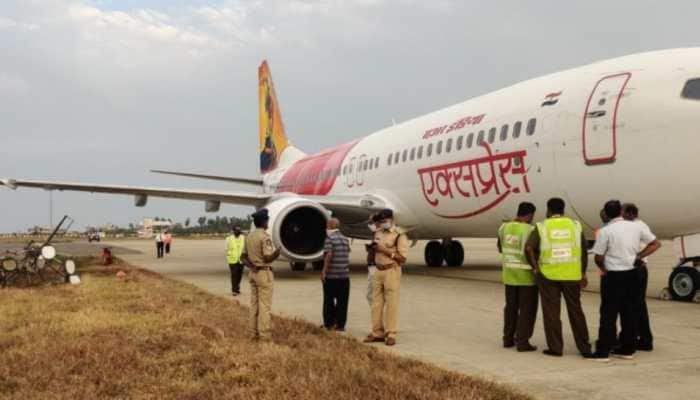 Air India Express plane hits electric pole on landing at Vijaywada airport