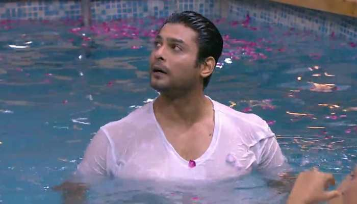 Bigg Boss 13 winner Sidharth Shukla takes a dip in pool, fans can't stop drooling - Watch