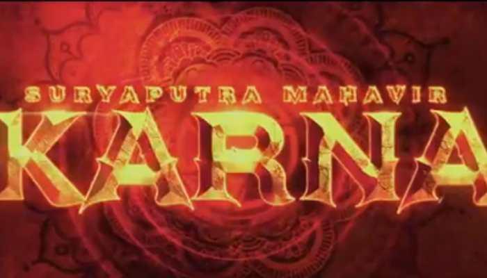 Suryaputra Mahavir Karna magnum opus logo unveiled, looks impressive - Watch